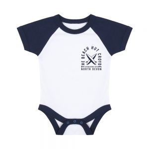 Baby baseball bodysuit Navy