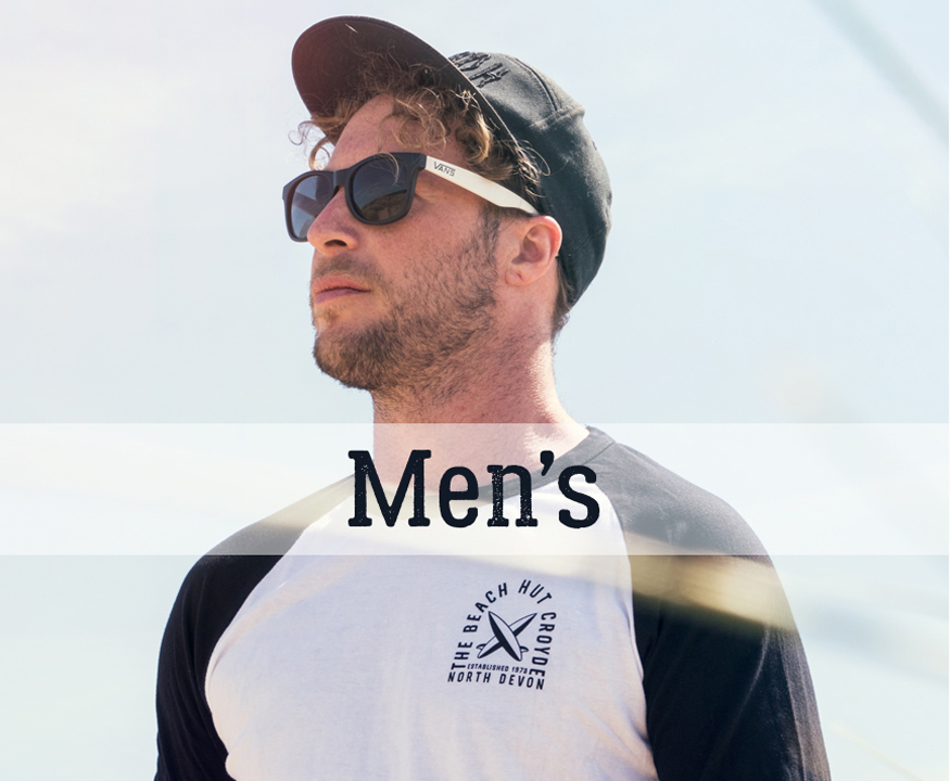 The Beach hut Croyde Mens clothing